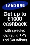 Samsung Home Theatre Cashback