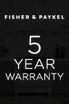 Fisher & Paykel 5 Year Warranty