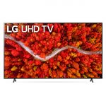 "LG 75"" UHD TV with LG AI ThinQ - 75UP8000PTB"