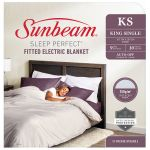 Sunbeam Sleep Perfect King Single Fitted Blanket - BLF5131