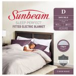 Sunbeam Sleep Perfect Double Fitted Blanket - BLF5141