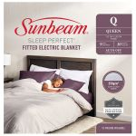 Sunbeam Sleep Perfect Queen Fitted Blanket - BLF5151 - Due April
