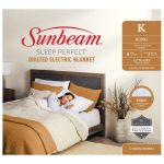 Sunbeam Sleep Perfect King Quilted Blanket - BLQ5471 - Due April