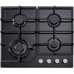 Euro Appliances 60cm Gas on Glass Cooktop - ECT600GBK