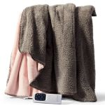 Sunbeam Feel Perfect Snug & Cosy Reversible Heated Throw - TRF4000