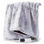 Sunbeam Feel Perfect Faux Fur Heated Throw - TRF4300 - Due April