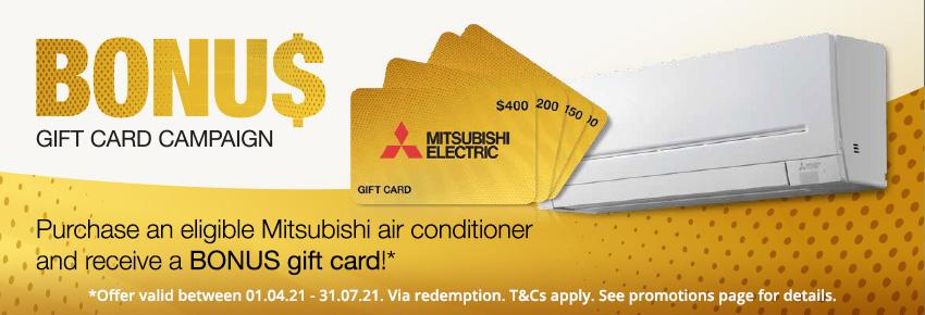 Mitsubishi Bonus Gift Card