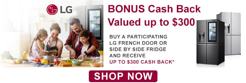 LG Bonus Cash Back