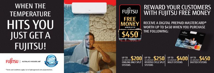 Fujitsu Winter Free Money