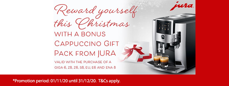 JURA 2020 Christmas Cappuccino Gift Pack Promotion