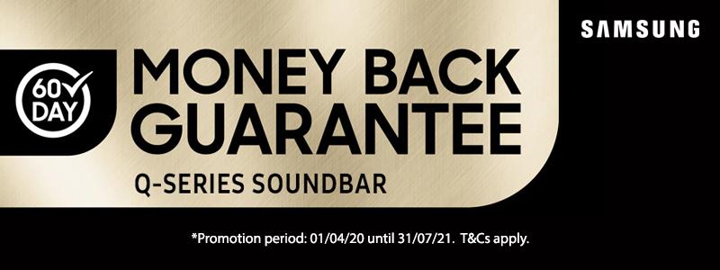 Samsung 60 Day Money Back Guarantee Promotion