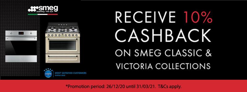 Smeg Classic & Victoria 10% off Promotion